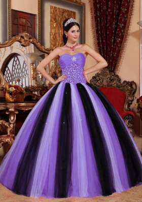 2014 Super Hot Sweetheart Beading Puffy Quinceanera Gowns