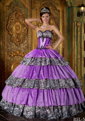 Luxurious Puffy Sweetheart 2014 Ruffles Layers Quinceanera Dresses