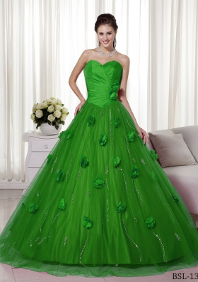 Dark Green Quinceanera Dresses|Hunter Green Quinceanera Gowns