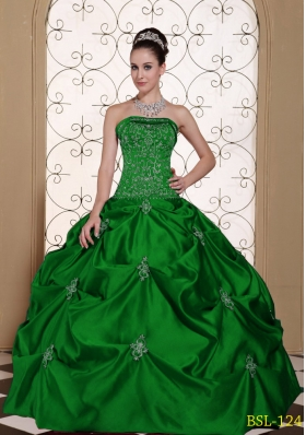 Where to Buy Dark Green Quinceanera Dresses, Affordable Dark Green ...
