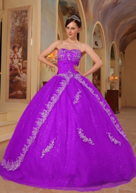 Ball Gown Sweetheart Dresses For a Quinceanera with Embroidery Beading