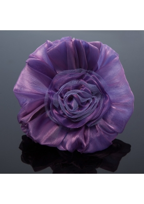 Cheaop Organza Purple Fascinators for Women