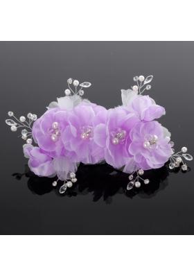 Pure Imitation Pearls Wedding Hair Flower for Summer