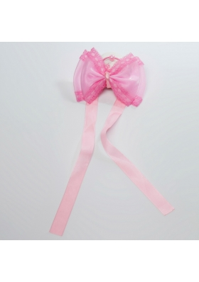 The Butterfly Tire White Sash Bowknot for Outdoor