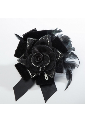2014 Beautiful Fascinators with Imitation Pearls and Feather