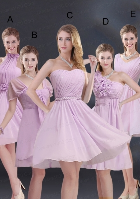 2015 Exquisite Bridesmaid Dress with Ruching