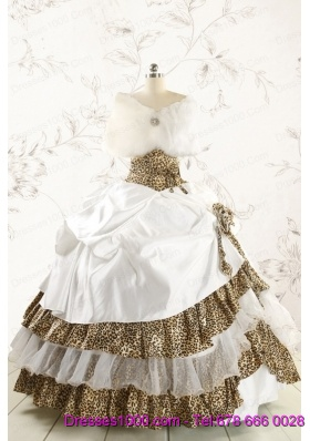Luxurious Ball Gown Quinceanera Dresses with wraps