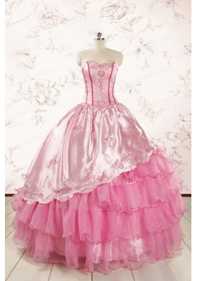 Pretty Sweetheart Quinceanera Dresses for 2015