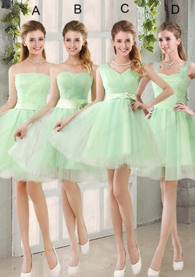 Ruching Organza A Line Mini Length Prom Dress with Lace Up