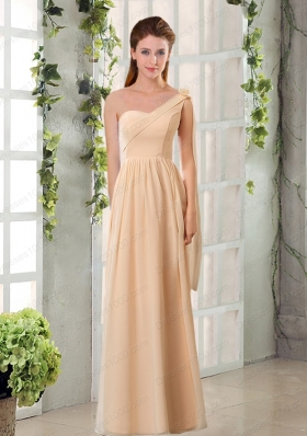 2015 Empire Chiffon Mother of the Bride Dresses with Ruching