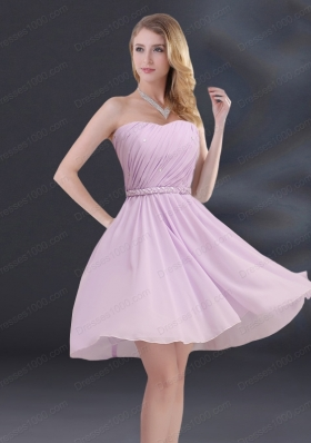A Line Sweetheart Mother of the Bride Dresses with Ruhing and Belt