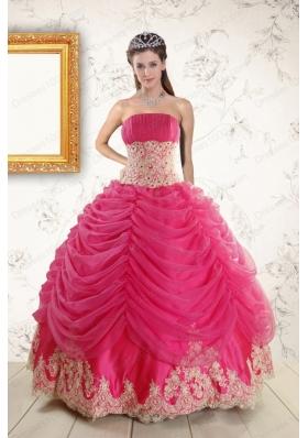 Beautiful Hot Pink Quinceanera Dresses, 2018 Hot Pink Quinceanera ...