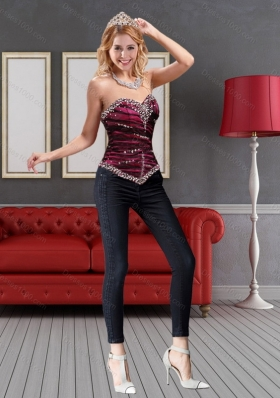 Perfect Sweetheart Multi 2015 Color Corset with Beading
