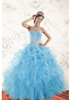 Affordable Blue Quinceanera Dresses, Beautiful Blue Quinceanera ...