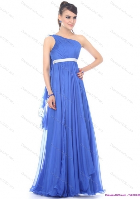 Perfect Halter Top Long Prom Dresses with Sash and Ruffles