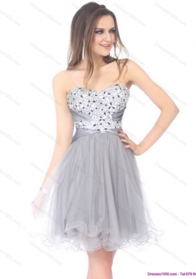 short dresses with rhinestones