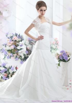 A Line Strapless Wedding Dress for 2015