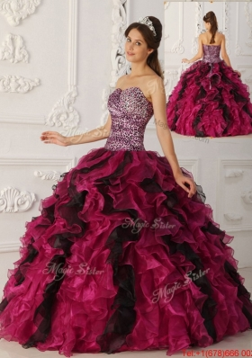 Summer Elegant Multi Color Ball Gown Floor Length Quinceanera Dresses