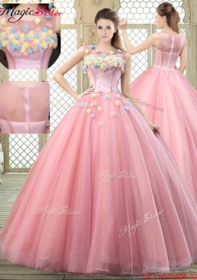 New Style Scoop Prom Dresses with Zipper Up