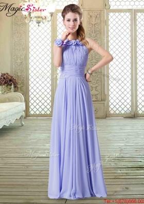 2016 Sweet Empire Halter Top Bridesmaid Dresses in Lavender