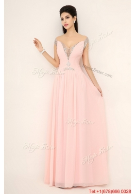 Beautiful Off the Shoulder Prom Dresses with Cap Sleeves for 2016