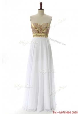 Vintage Sweetheart Custom Made Prom Dresses with Beading and Sequins