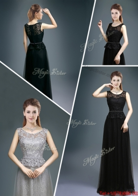 Cheap Empire Scoop Lace Prom Dresses for 2016 Winter