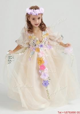 2017 Cheap Flower Girl Dresses, Discount Cheap Flower Girl Dresses