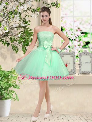 Modern Sleeveless Lace and Belt Lace Up Quinceanera Court Dresses
