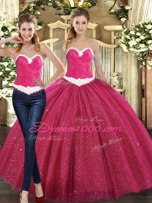 On Sale Sleeveless Ruching Lace Up Quinceanera Gown