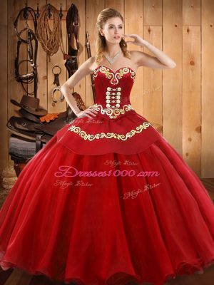 Nice Sleeveless Lace Up Floor Length Ruffles Quince Ball Gowns