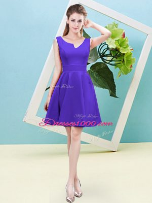 Custom Designed Sleeveless Ruching Zipper Bridesmaid Dresses