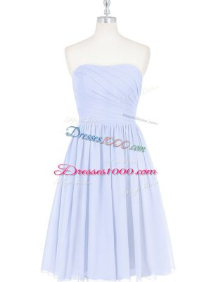 Designer Sleeveless Ruching and Pleated Side Zipper
