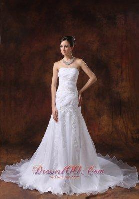 Court Train Embroidery Western brides Wear Dramatic