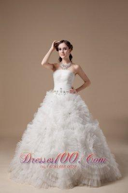 Extravagant Rolling Flower Wedding Bridal Gowns Belt