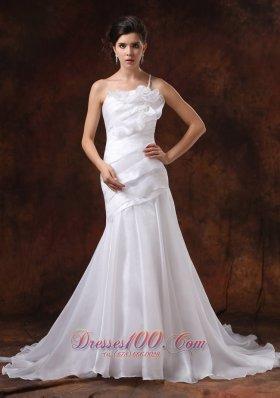 Beautiful Mermaid One Shoulder Beaded Bridal Dresses