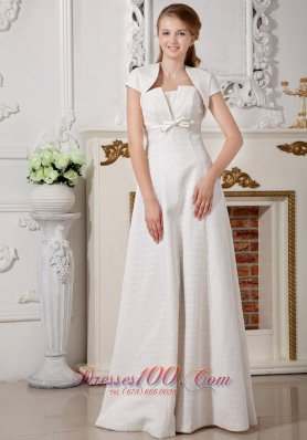 Wedding Bridal Gown Strapless Special Fabric Belt Discount