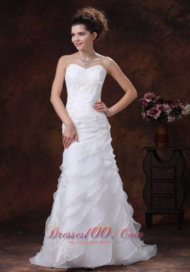 Free Shipping Romantic Wedding Dresses, Simple Romantic Wedding Dresses