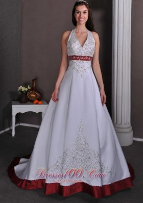 Beautiful colored wedding dresses