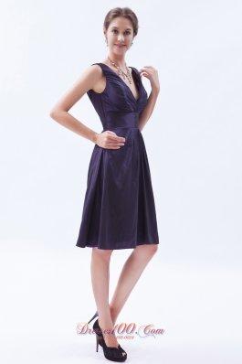 Indigo Empire V-neck Prom Dress Knee-length for sale