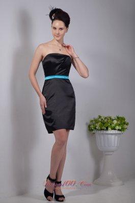Little Black Dress Column Mini-length Colored