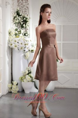 Coffee color bridesmaid dresses