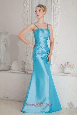 Aqua Blue Bridesmaids Dresses 115