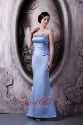 Mermaid Lilac Mother Of The Bride Dress Ankle-length
