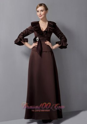Mother In Law Dresses For Fall Weddings Brown Mother in law Dresses