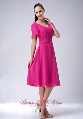 Fuschia Mother of Bride Outfits