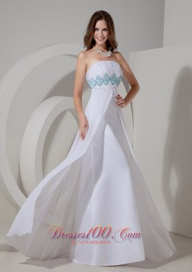 Ruch Evening Dress Empire with Slit Column