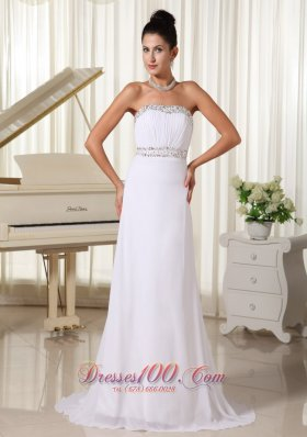 Prom Dress Beaded Decorata Bust and Waist Brush