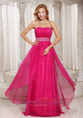 Beading and Ruch Prom Dress Party Sheer Chiffon Overlay