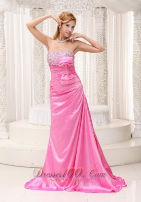 2013 Plus Size Prom / Evening Dress Taffeta Bow